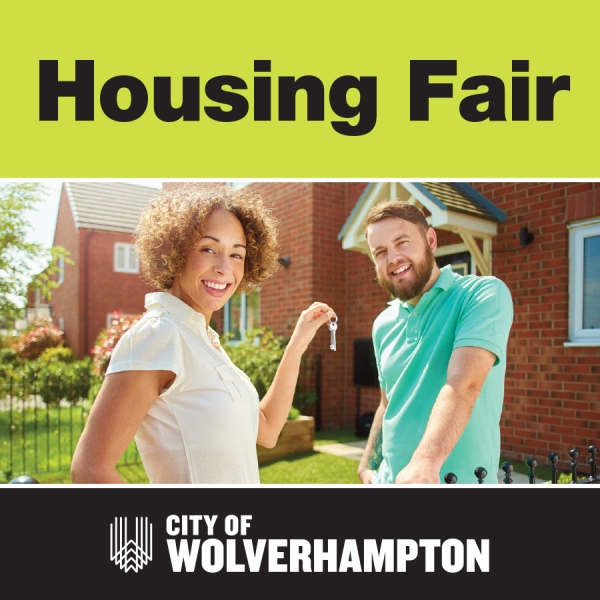 Graphic stating Housing Fair