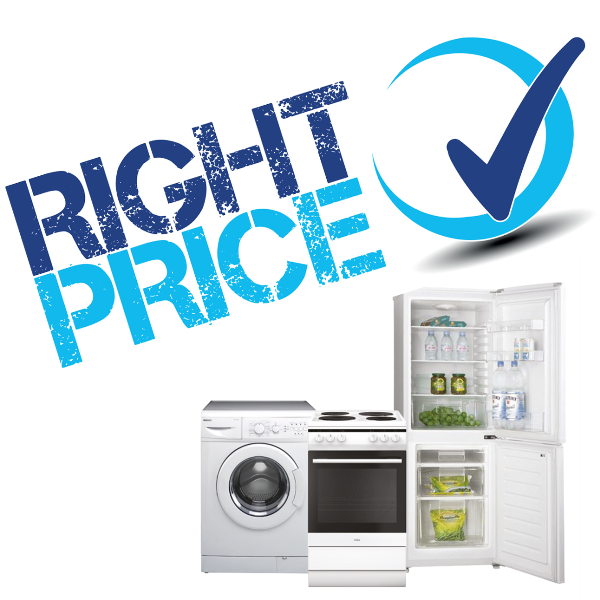 Picture of Right Price logo and appliances